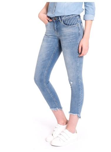 Kesik Paça Bilek Boy Skinny Jean Pantolon-LC Waikiki